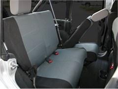 Jeep Wrangler JK Custom Fit Neoprene Seat Covers, Rear Pair,  2 Door, 07-12