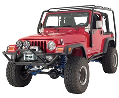 """Rampage Products """"Sand-Rock-Street"""" Front Bumper, '87-'06 Wrangler & Unlimited"""