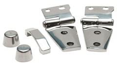 Complete Hood Kit Wrangler JK 2007-2018 Stainless Steel by Rampage