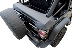 Storage Boot for Soft Top Jeep Wrangler JK 2D 2007-2018 by Rampage