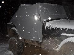 Water Resistant Cab Cover w/door flaps CJ7