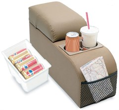 Padded Middle Storage Console for Jeeps, SUVs