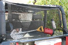 "Rampage Hang-Tite Roll Bar Cargo Management System, ""Traveler"" Deluxe 24"" Hammock Net"