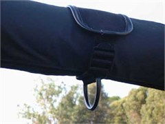 Hang-Tite Cargo Nets: Clothes Hanger/Strap and Bag Anchor Side Roll Bar Mount - (Pair)