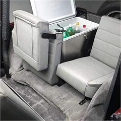 Split Fold & Tumble Rear Seat for Jeep Wranglers, 97-02