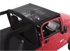 Mesh Summer Brief Top for Jeep Wranglers '97-'06, Rampage Products