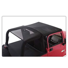 Mesh Island Topper Extended Top for Jeep Wranglers '97-'06, Rampage Products