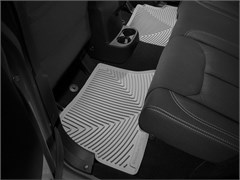 WeatherTech Rubber Mats, Rear, for Jeep Wrangler JKU 4 Door 2014-2018 Gray