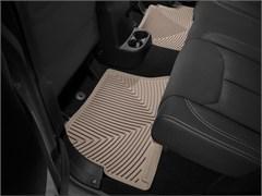 WeatherTech Rubber Mats for Jeep Wrangler JKU 4 Door 2014-2018 Tan - Rear