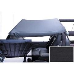 Black Denim Acoustic Header Brief-Jeep Wrangler TJ, LJ 2004-2006