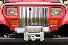 Chrome Trim Billet Grille Inserts for Jeep Wrangler YJ (1987-1995)