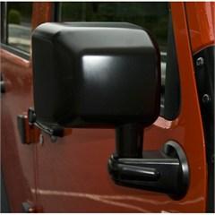 Side Mirror for Wrangler JK 2007-2017 Passenger Side in Black