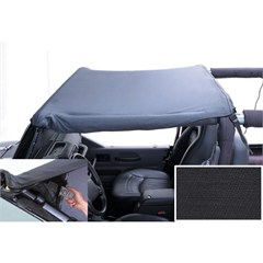 Black Diamond Pocket Brief for Jeep Wrangler YJ (1987-1991)