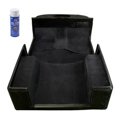 Deluxe Carpet Kit with Adhesive for Jeep Wrangler TJ (1997-2006)