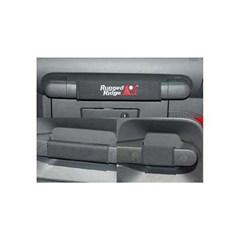 Black Grab Handle Kit for Jeep Wrangler JK Unlimited (2007-2010)