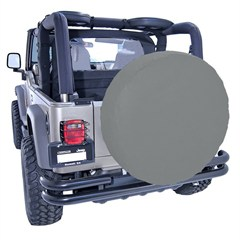 33 Inch Tire Cover in Gray