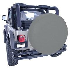 35-36 Inch Tire Cover in Gray