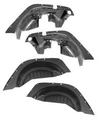 Inner Fender Liner Kit for Jeep Wrangler JK 2007-2017 by Rugged Ridge