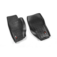 Jeep Liberty Floor Liners All Terrain, Front (2008-2013)