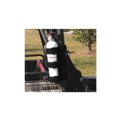 Black UTV Fire Extinguisher Holder