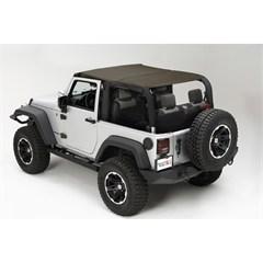 Island Topper Soft Top for 2 Door Jeep Wrangler JK (2007-2009)