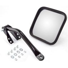 Black Left Side Mirror Kit for Jeep CJ (1955-1986)