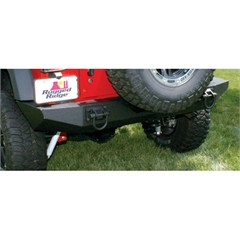 XHD Bumper Wrangler JK 2007-2018 Rear Textured Black Rugged Ridge
