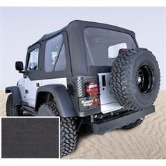 Jeep Wrangler XHD Soft Top, Clear Wndws, Black Denim (1997-2006)