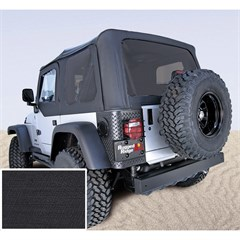 Jeep Wrangler Soft Top w/Drs, Tinted Wndw, Black Diamond (2003-2006)