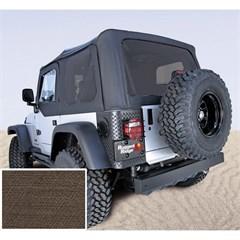 Jeep Wrangler Soft Top w/Drs, Tinted Wndw, Khaki Diamond (2003-2006)