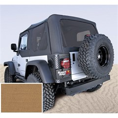 Jeep Wrangler Soft Top, No Drs, Tinted Wndw, Spice (1997-2002)