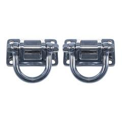 XHD D-Ring Bumps Pair CJ & Wrangler 1955-2018 YJ TJ JK Stainless