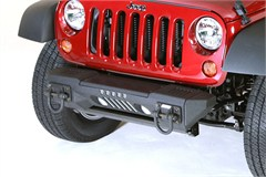 XHD Aluminum Bumper with Winch Plate Wrangler JK 2007-2017 Front