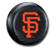 San Francisco Giants MLB Tire Cover - Black Vinyl