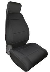 Neoprene Front Seat Covers Wrangler JK 2011-2017 Black Rugged Ridge