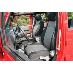 Neoprene Front Seat Covers Wrangler JK 2011-2017  Black and Gray