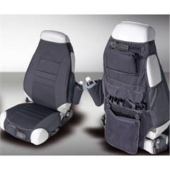 Seat Protector,  Wrangler (1976-2006), Black Fabric