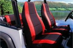 Jeep Wrangler CJ YJ Neoprene Seat Covers FULL SET For All Models Up To 1996