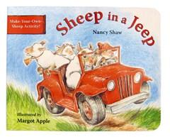 """Sheep in a Jeep"" Children's Book"