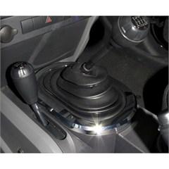 Chrome Manual Transmission Shift Bezel Trim -Jeep JK (2007-2010)