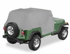 Cab Cover, Jeep YJ (1992-1995), TJ (1997-2006)