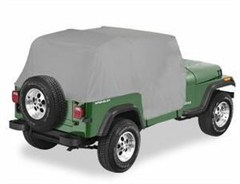 Water Resistant Cab Cover with door flap for Jeep CJ7 1976-1986 - Gray