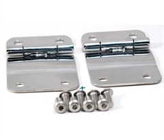 Stainless Steel Tailgate Hinges for Jeep CJ (1976-1986)