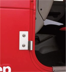 Lower Door Hinges, Stainless for Jeep CJ/YJ/TJ/LJ (1976-2006)