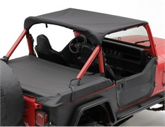 Standard Summer Top for Jeep CJ7 (1976-1986) in Black