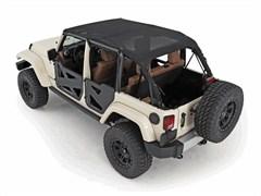 Outback Extended Mesh Top - 4 Door Jeep Wrangler JK  (2007-2009)
