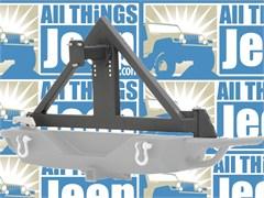 SRC Tire Carrier for Jeep Wrangler JK 2007-2017 in Textured Black