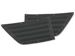 G.E.A.R. Rear Door Panels Wrangler JK 4D 2007-2017 Black Smittybilt