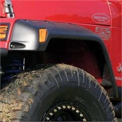 """6"""" Fender Flares, Jeep Wrangler TJ & LJ 1997-2006-Textured Black"""