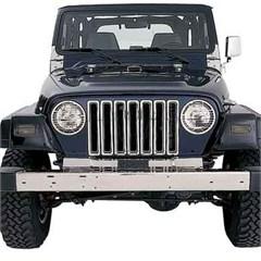 Billet Grille Inserts for Jeep TJ (1997-2006), LJ (2004-2006)